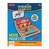 Melissa & Doug Innovation Academy Movie Projector Build-and-Play Mini Movie Theater