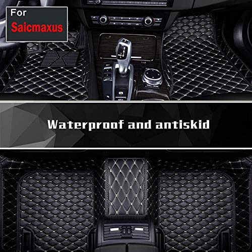 Fashion Trend Easy Clean Auto Interior Car Mats Pu Leather Floor Pads Sticker For Saicmaxus G10 T60 D90 Eg10