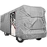 North East Harbor Waterproof Superior RV Motorhome Fifth Wheel Cover Class A B C Fits Length 35'-37' Travel Trailer Camper Zippered Panels Allow Access To The Door, Engine And Both Side Storage Areas
