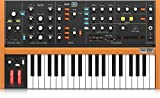 behringer poly d analog 4 voice polyphonic synthesizer with 37 full size keys, 4 vcos, classic ladder filter