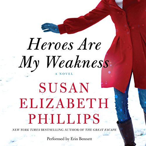 Heroes Are My Weakness audiobook cover art