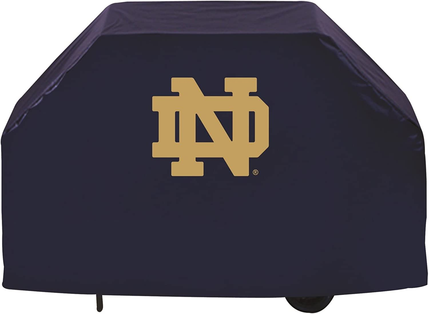 Holland Bar Stool NCAA Notre Dame Fighting Irish 60  Grill Cover, Block Logo
