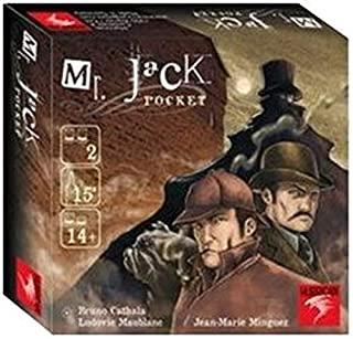 Mr Jack Pocket - Asmodee - Jeu de société - Jeu d'enquête (B0040LJVNM) | Amazon price tracker / tracking, Amazon price history charts, Amazon price watches, Amazon price drop alerts