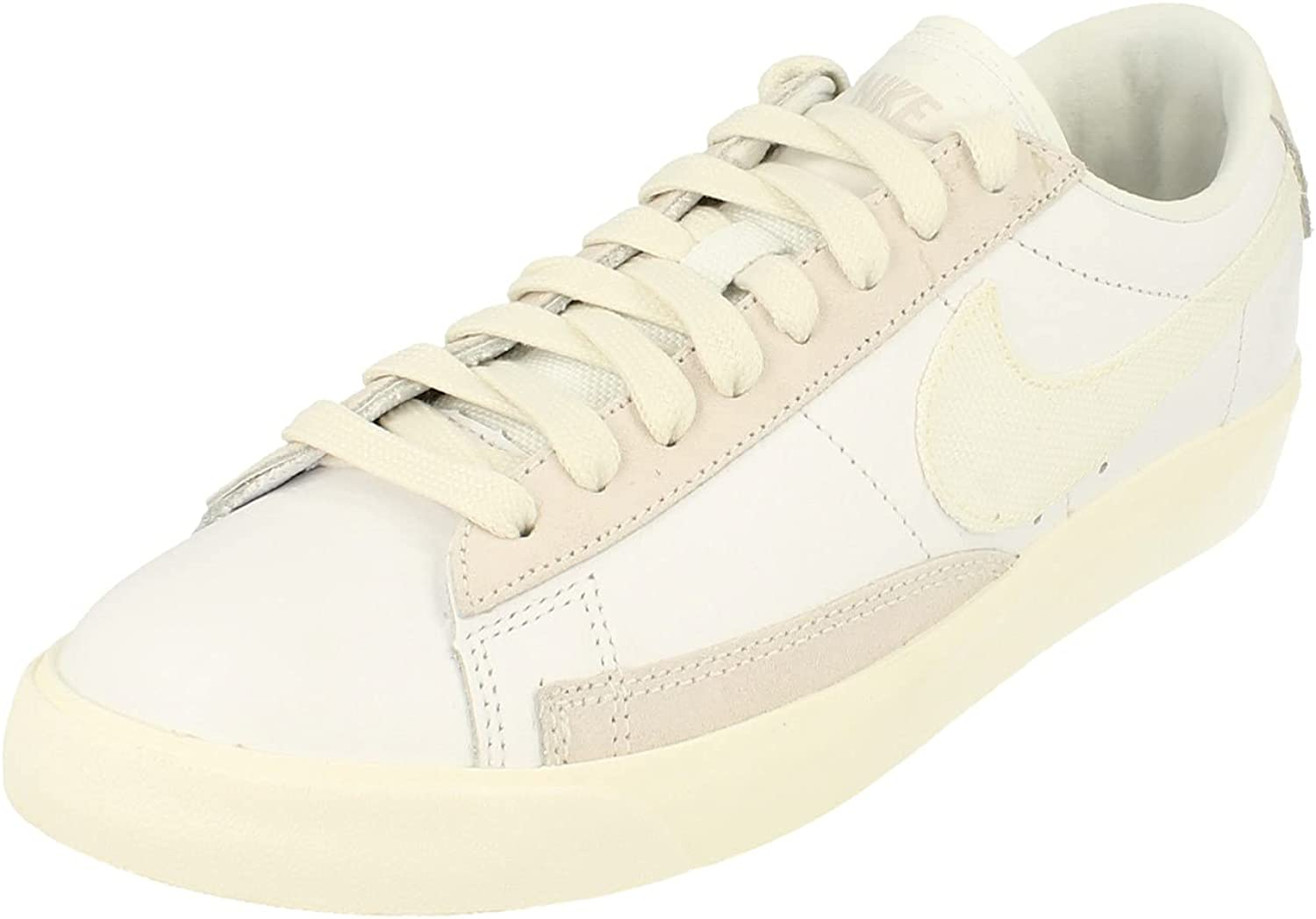 Long-awaited Nike Blazer Low Leather Mens Trainers Cw7585 Shoes Sneakers Cash special price
