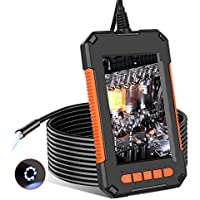 Rumia 1080p Industrial Borescope Camera with 8 LED Light
