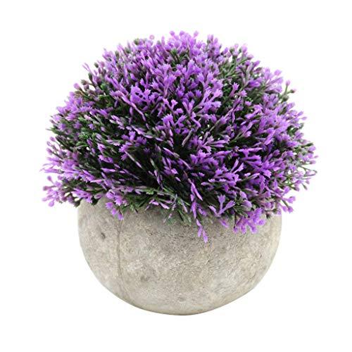 Decoración de plantas artificiales en maceta mini planta falso flor plantas verdes plantas de plástico artificiales hogar oficina boda decoración