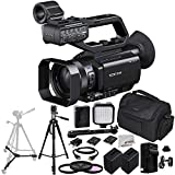 Sony PXW-X70 Professional XDCAM Compact Camcorder + 3PC Multi-Coated Filter Kit (UV+CPL+FLD) + 2 Replacement NP-FV100 Battery + Rapid Travel Charger with E.U Adapter & Car Adapter + 72-inch 3-way Panhead Tilt Motion Tripod plus MORE
