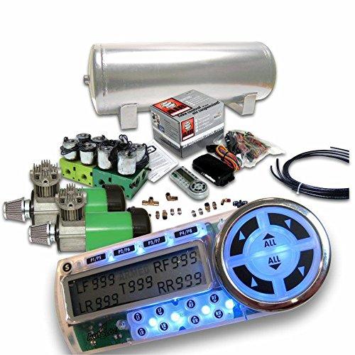 Helix 10164 Dual Compressor 6-Preset Digital Air Suspension Controller Kit