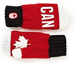 HUDSON'S BAY TEAM CANADA OLYMPIC RED MITTENS (ADULT L/XL) *NEW*