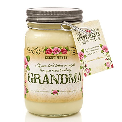 Scentiments GRANDMA Candle - Choice of 4 Fragrances