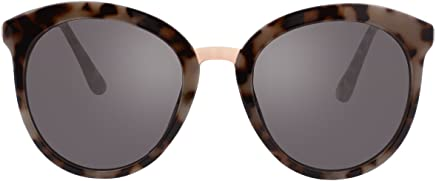 6c7f4cd69f41 VIVIENFANG Korean Fashion Flat Lens Women s Oversized Sunglasses Round  Cateye Shades For Unisex P2196
