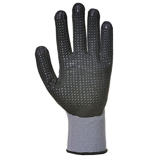 Portwest A351 DermiFlex Plus Handling Glove with PU/Nitrile Foam Palm Grip ANSI, Large