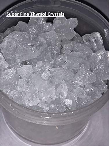 Basf Ccs Thymol Crystals High Aroma Compound 2Oz in Silver Polybag