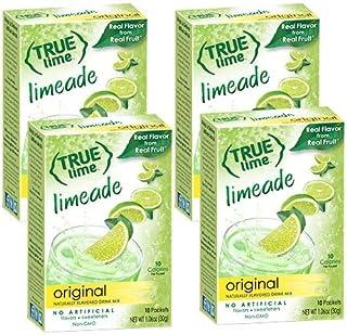 Sponsored Ad - True Lime LIMEADE (Pack of 4) 10ct each box. True Lemon | True Citrus