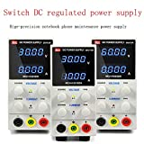 WINMING Adjustable DC voltage regulated power supply 30V 10A, digital high precision ammeter laptop phone repair power