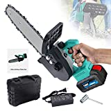 Best Cordless Chainsaws - 12 inch Cordless Electric Handheld Chainsaw,700W Mini Power Review