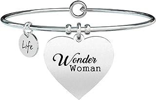 Cuore Wonder woman, Unica, Argento