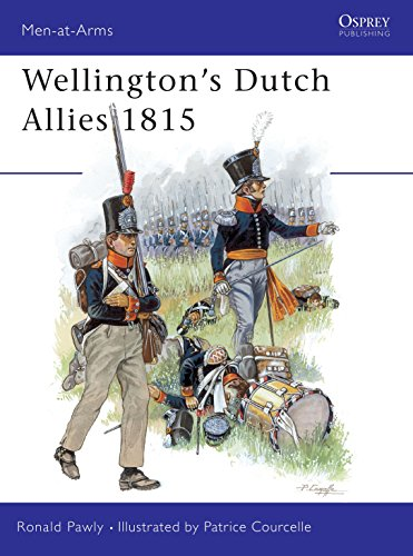Wellington's Dutch Allies 1815 (Men-at-Arms)
