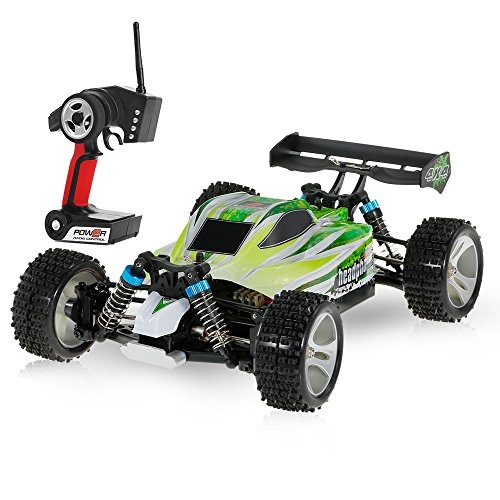 WLtoys Goolsky A959-B 2.4G 1/18 Scale 4WD 70km/H High Speed Electric RTR Off-Road Buggy RC Car (OBY0897050705015JG)