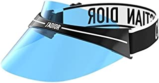 Authentic Christian Dior DIORCLUB 1 Visor JOF Black White/Blue Sunglasses