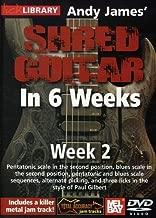 Hal Leonard 393159 Andy James' Shred Guitar in 6 Weeks, Week