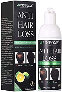 BUOCEANS Hair Growth Products, Hair Regrowth, Hair Growth Treatment, Hair Loss & Hair Thinning Treatment, Extra Strength Hair Growth Treatment Foam, One Month Supply