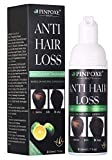 BUOCEANS Hair Growth Products, Hair Regrowth, Hair Loss & Hair Thinning, Extra Strength Hair Growth Foam, One Month Supply