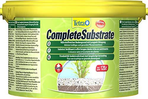 Tetra CompleteSubstrate 5 kg - Sustrato rico en nutrientes con fertilizante de larga duración, Favorece un crecimiento saludable y seguro de las plantas