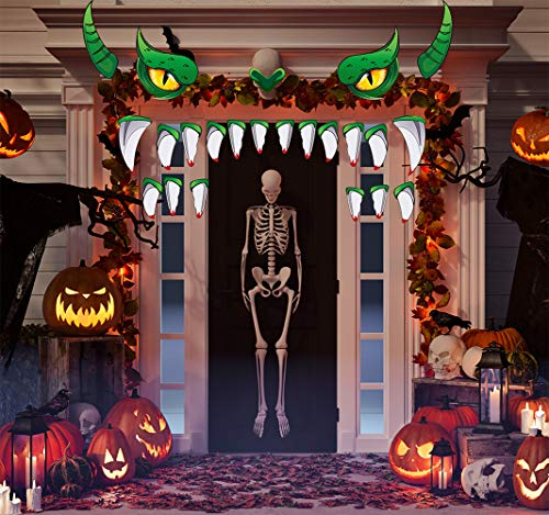 Sayala Halloween Decoración de Exterior,Puerta de Sdrco de Garaje, Coche,Decoración de Casa Embrujada