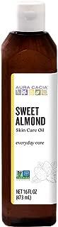 Aura Cacia - Pure Sweet Almond Oil | Non-GMO Project Verified | 16 fl. oz.
