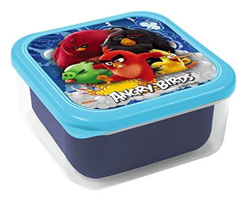 Angry Birds Lot de 2 boîtes à goûter Multicolore