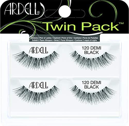 Ardell Twin Pack Lash 120 künstliche Wimpern aus Echthaar, das Original für perfekte Lashes, black (1x)