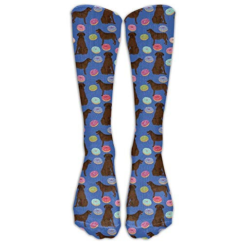 remmber me Abrador Retriever Dogs Pet Chocolate Labs Donuts für Herren Lässige Crew-Top-Socken