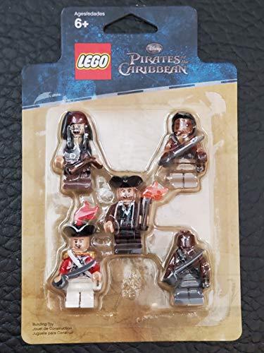 LEGO Pirati Dei Caraibi: Battaglia Pack: Jack Sparrow, Scrum, Lieutenant Theodore Grove, 2 Zombie Pirates