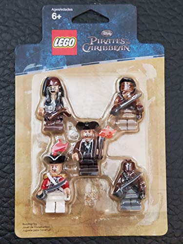 LEGO Piraten Der Karibik: Battle Pack: Jack Sparrow, Scrum, Lieutenant Theodore Grove, 2 Zombie Pirates