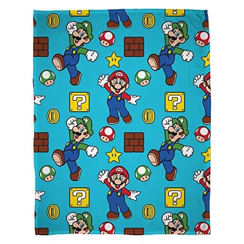Super Mario Nintendo Square Fleecedecke
