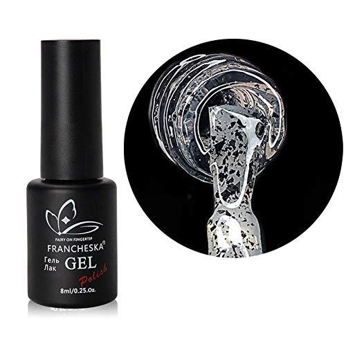 Esmalte de uñas de 8 ml Gel de huevo de codorniz Efecto de punto negro Kit de arte de uñas de manicura de gel de larga duración