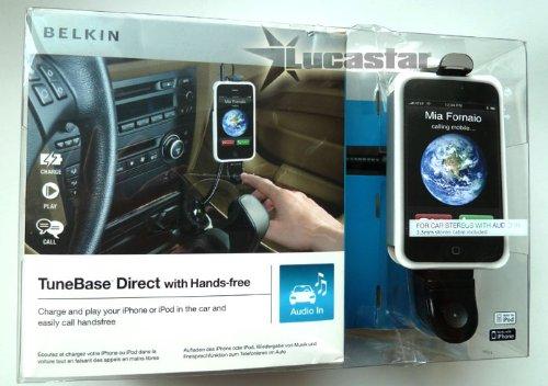Belkin f8z442cwb-m–TuneBase Direct mit Freisprecheinrichtung für iPhone/iPod