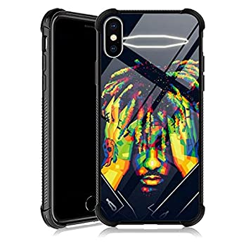 iPhone XR Case abc796 iPhone XR Cases with 4 Corners Shockproof Protection Soft Silicone TPU Bumper and Hard PC Pattern Back Case for Apple iPhone XR