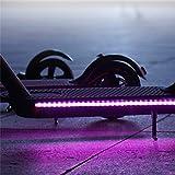 Tira De Luz LED para Scooter Accesorio De Scooter Eléctrico Xiaomi M365 Seguridad De Ciclismo Nocturno Tira De Luz...