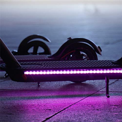 Tira De Luz LED para Scooter Accesorio De Scooter Eléctrico Xiaomi M365 Seguridad De Ciclismo Nocturno Tira De Luz Decorativa Decoración Interior Al Aire Libre Luz Colorida Iluminación Duradera