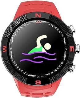 Wristwatch Reloj Inteligente Redondo Pantalla a Color de 1.3 Pulgadas La información a Prueba de Agua IP68 Recuerda la Larga duración de la batería Reloj Inteligente de posicionamiento GPS