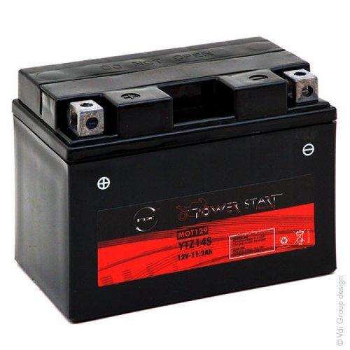 NX - Batteria moto YTZ14S-BS/NTZ14S-BS 12V 11.2Ah - YTZ14S;YTZ 14S;GTZ14S;ETZ14S