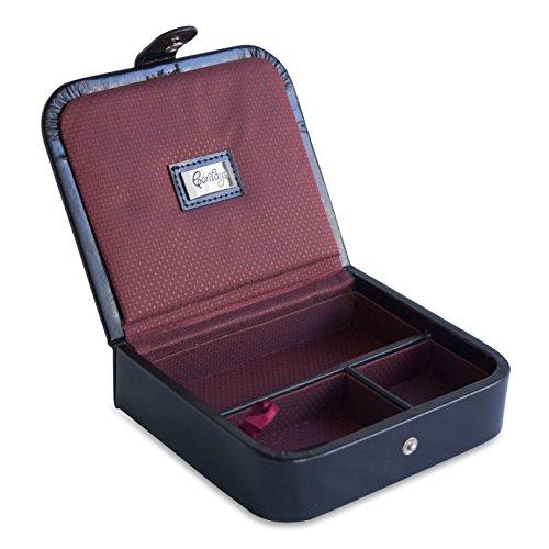 CORDAYS - Reise-Box kompakter Organizer für den Herren Handgefertigt in europäischem echtem Leder in Premium Qualität CDM-00017