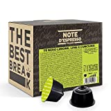 Note d'Espresso - Cápsulas de Té Negro con Limón, Lima y Cúrcuma , 48 x 16 g, Total: 768 g