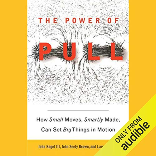 The Power of Pull audiobook cover art