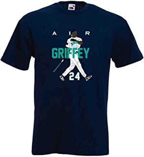 The Silo Navy Ken Griffey Jr Seattle Air HR New T-Shirt