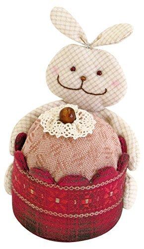 Patchwork kit Dierlijke snoepjes Konijn cupcake Pin kussen