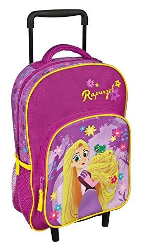 Undercover kleuterschool trolley, Disney Rapunzel, Circa 36 x 25 x 10 koffer, 36 cm, 15 L, roze
