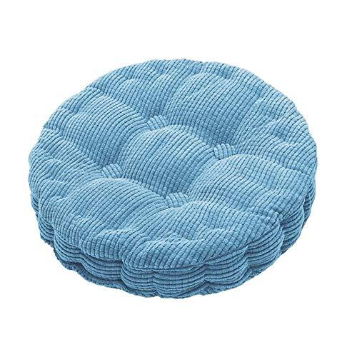 RAQ zitkussen voor stoel, rond, natuurlijke kleuren, zacht, met pluche gevuld, voor kantoor 45x45cm 06